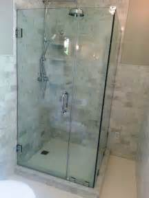 bathroom shower glass glass shower enclosures