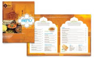 Free Menu Templates For Restaurants by Indian Restaurant Menu Template Design