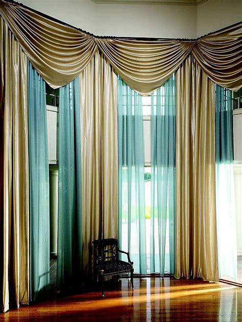 Elegant Curtains For Living Room Interior Designs