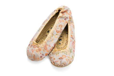 Holistic Silk Reflexology Slippers by These Are More Than Just A Pair Of Indoor Slippers