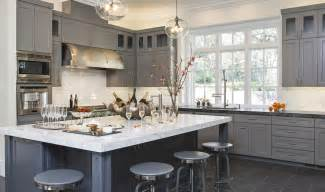 glass hanging pendant lights over island for gray color