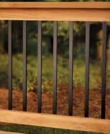 Outdoor Deck Spindles 25 Best Ideas About Deck Railings On Deck