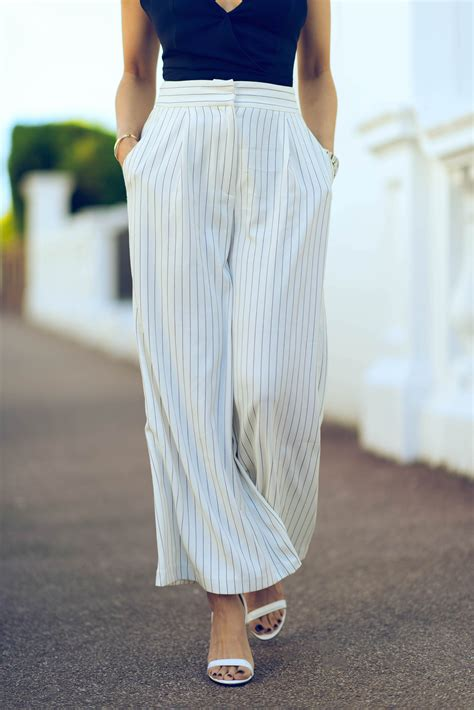 44126 Casual Blue Stripe S M L Skirt Le181117 Import the that will show you how to wear the vertical