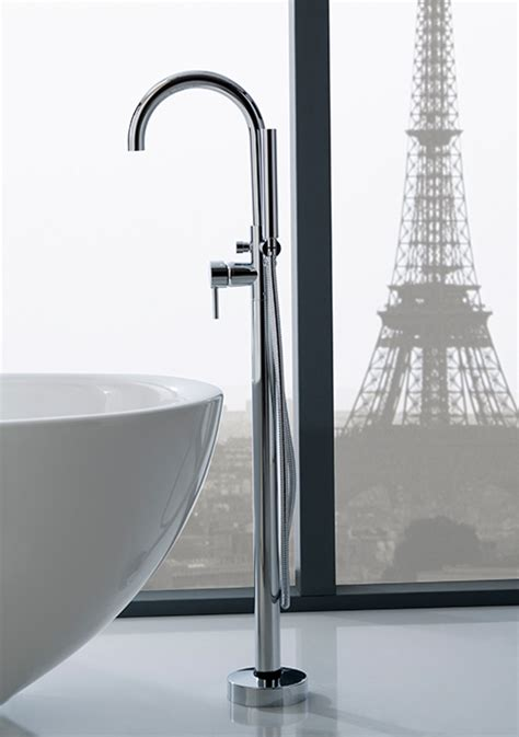 bathtub filler floor mounted faucets and tub fillers by graff