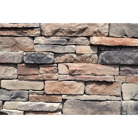 shop m rock appalachian ledge brown molded corner