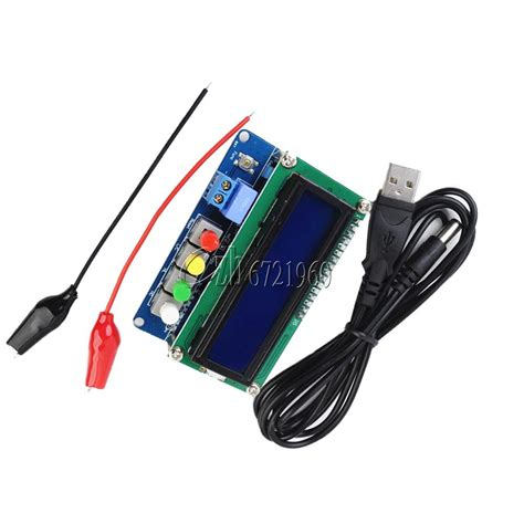 inductance meter principle lc100 a digital inductance meter capacitance meter l c meter 5v 2a power meter ebay