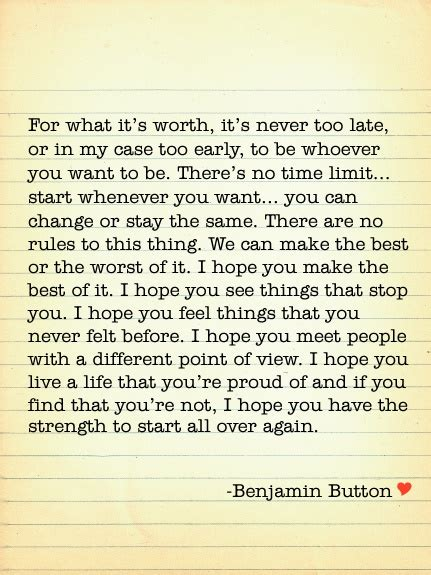benjamin button end 25 best benjamin button quotes on fitzgerald