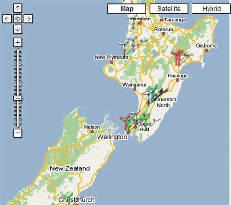 links zealand google maps mashup roundup