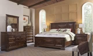tuscaloosa chocolate brown panel bedroom set from american