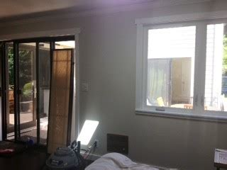 should drapes touch the floor what curtain length for smaller window next to sliding door