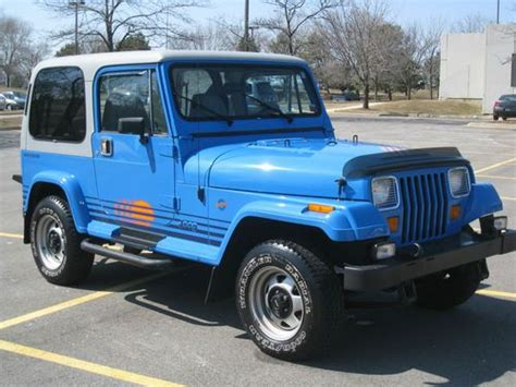 Jeep Wrangler Islander For Sale Purchase Used 1990 Jeep Wrangler Islander 23k Original