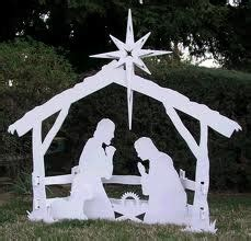 16 Best Wooden Mangers Images On Pinterest Christmas Nativity Yard Sign Template