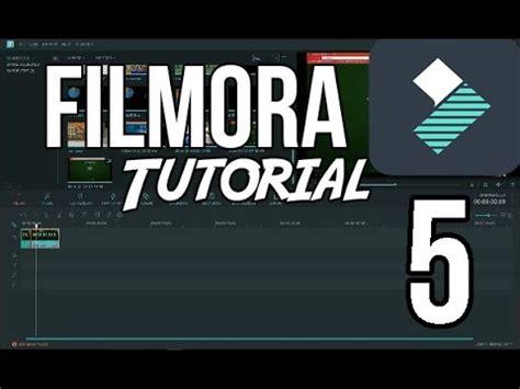 tutorial do wondershare filmora filmora tutorial 5 klonov 225 n 237 a zelen 233 pozad 237 cz sk