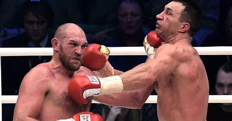 siaran tv tinju wladimir vs tyson wladimir klitschko to fight tyson fury again in 2016 after