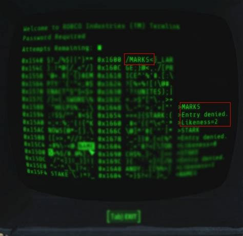 bobblehead terminal password how to hack terminal in fallout 4 expert guide