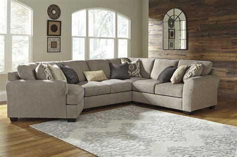 pantomine 4pc left arm facing cuddler sectional
