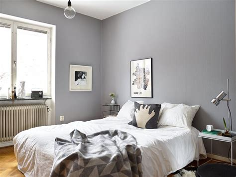 Gray Wall Bedroom | decordots interior inspiration grey walls
