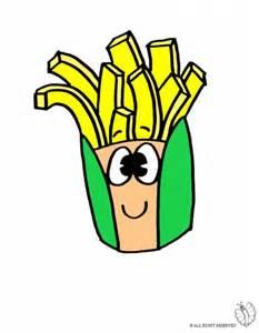 disegno patatine colori bambini disegnidacolorareonline