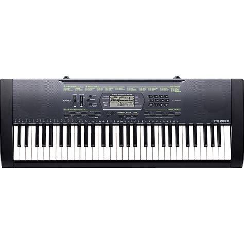 Casio Ctk 4400k2 61 Keyboard casio ctk 2000 61 key portable keyboard musician s friend