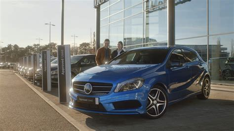 Is Mercedes A Car by Approved Used Cars Mercedes Cars Uk
