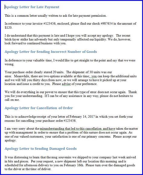 business apology letter for billing error 10 business apology letter to clients templates free