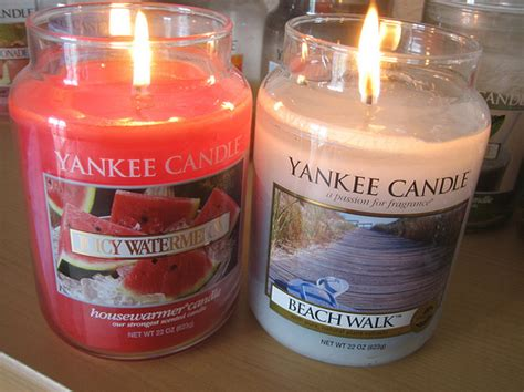 yankee candle alaskan lights candle light watermelon yankee candle image 112000