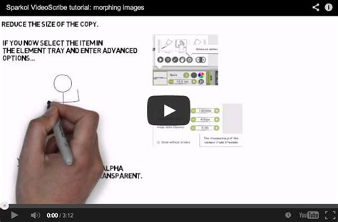 videoscribe anywhere tutorial how to morph your images and bring your characters to life