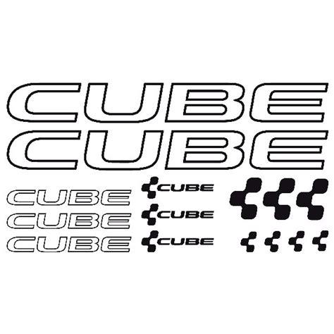 Aufkleber Cube by Fahrrad Aufkleber