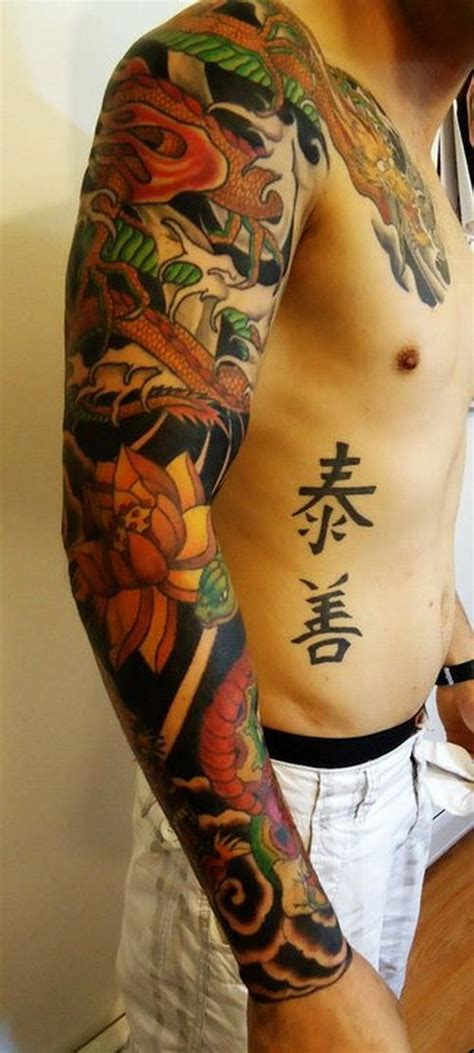 dragon arm sleeve tattoo designs tattoos for arm sleeve tattoos for the arm
