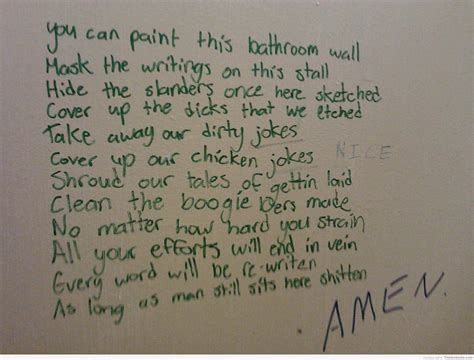 Poems About Bathrooms by Bathroom Poem Just B Cause