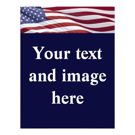 election flyers templates free political election caign flyer template zazzle