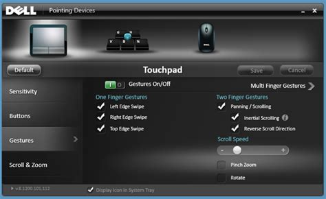 Touchpad Dell how to disable metro edge swipes and touch charm gestures
