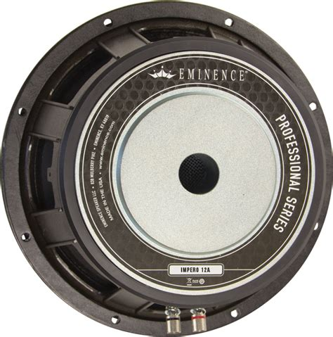 Speaker Eminence 12 speaker eminence 174 pro 12 quot impero 12a 1100 watts lified parts