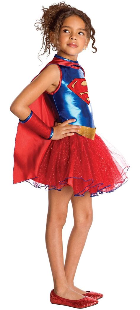 superhero halloween costumes for girls kids supergirl deluxe girl costume 30 39 the costume land