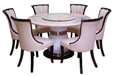 Revolving Dining Table Top Marble Dining Tables