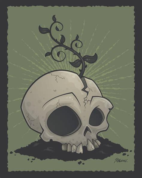 Skull Garden by Skull Garden By Fizzgig