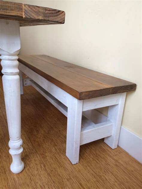 diy building a farmhouse table and bench shirley