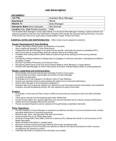 sales assistant description 2 key duties responsibilities for sales assistant 1 greeting