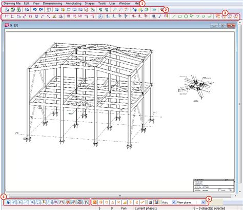 C Drawing On Screen by Drawing Mode Screen Layout Tekla User Assistance