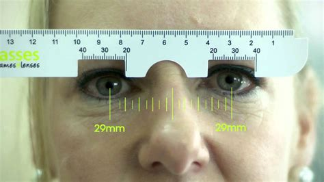 glasses frames and lenses how to use a pd ruler