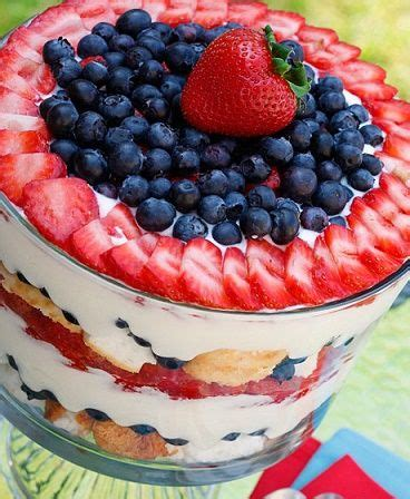 amazing blueberry trifle food cakes dr oz and