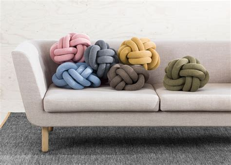 knot pillow knot cushions now made by design house stockholm