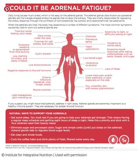 Caffeine Detox Fatigue by Symptoms Of Adrenal Fatigue And What To Do