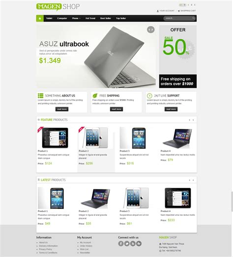 html5 product template 7 premium bootstrap html5 templates dealfuel