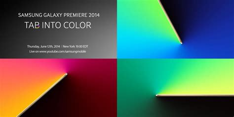 Samsung Tab Color samsung teases quot tab into color quot event in new york next