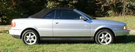 how do i learn about cars 1997 audi cabriolet security system find used 1997 audi cabrolet in shepherdsville kentucky united states for us 6 000 00