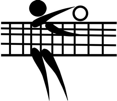 clipart pallavolo free vector graphic netball sport