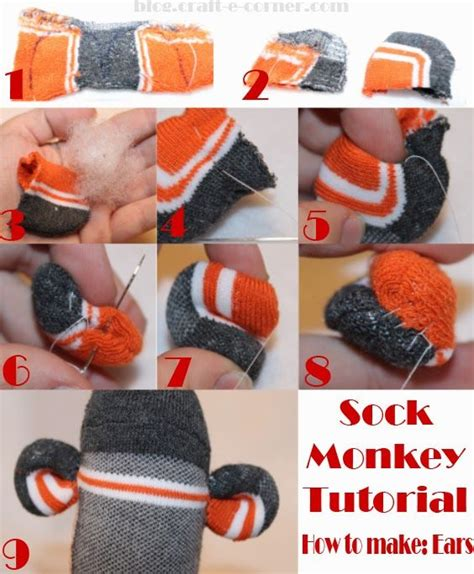 diy sock monkey tutorial 69 best images about diy tutorials on vinyls sock monkeys and wire name