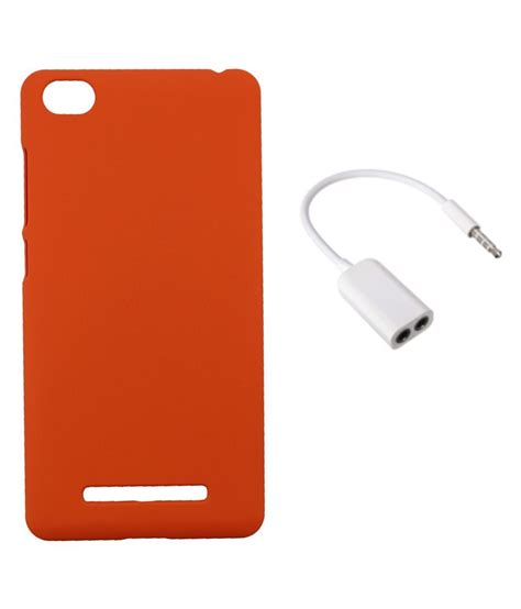 Xiaomi Mi4i Imei Hilang tidel orange back cover for xiaomi mi4i with audio spliter mobile cover combos at low
