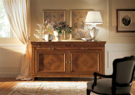 credenze in legno classiche maison mati 201 e arredamento classico camere da letto